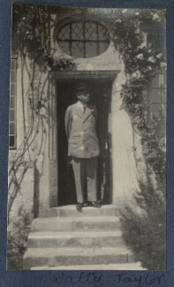 Walter Taylor, by Lady Ottoline Morrell - NPG Ax141332