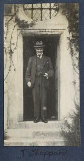 Sir John Tresidder Sheppard, by Lady Ottoline Morrell - NPG Ax141335