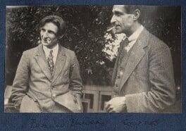 Edmund Blunden; John Cournos, by Lady Ottoline Morrell, 1923 - NPG Ax141413 - © National Portrait Gallery, London