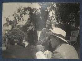 'Sunday Afternoon', by Lady Ottoline Morrell, 1923 - NPG Ax141429 - © National Portrait Gallery, London