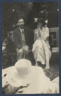 Lytton Strachey; Virginia Woolf, by Lady Ottoline Morrell - NPG Ax141459