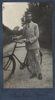 Walter John Herbert ('Sebastian') Sprott, by Lady Ottoline Morrell - NPG Ax141461