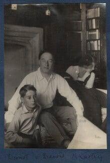 Dermod MacCarthy; Sir Desmond MacCarthy; Julian Vinogradoff (née Morrell), by Lady Ottoline Morrell - NPG Ax141466