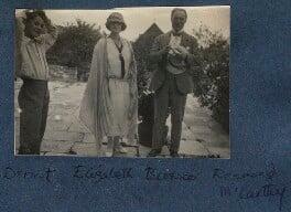 Dermod MacCarthy; Elizabeth (née Asquith), Princess Bibesco; Sir Desmond MacCarthy, by Lady Ottoline Morrell, 1923 - NPG Ax141468 - © National Portrait Gallery, London