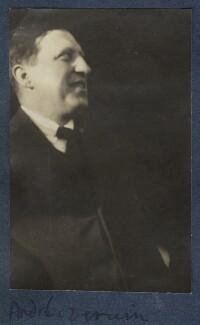 André Louis Derain, by Lady Ottoline Morrell - NPG Ax141473