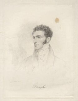 Hugh Fortescue, 2nd Earl Fortescue, by Frederick Christian Lewis Sr, after  Joseph Slater, 1826 or after - NPG D20597 - © National Portrait Gallery, London