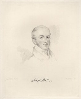 Sir Leonard Thomas Worsley Holmes, 9th Bt, by Frederick Christian Lewis Sr, after  Joseph Slater - NPG D20598