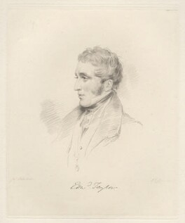 Edward Clough Taylor, by Frederick Christian Lewis Sr, after  Joseph Slater, 1826 or after - NPG D20599 - © National Portrait Gallery, London
