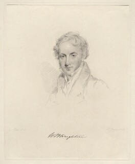 William Battie-Wrightson, by Frederick Christian Lewis Sr, after  Joseph Slater - NPG D20601