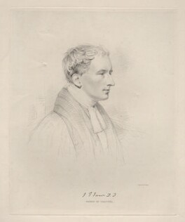 John Thomas James, by Edward Francis Finden, after  Joseph Slater - NPG D20603