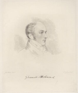 Lord Granville Somerset, by Frederick Christian Lewis Sr, after  Joseph Slater - NPG D20605