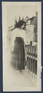 Lady Ottoline Morrell, possibly by Lady Ottoline Morrell - NPG Ax141478