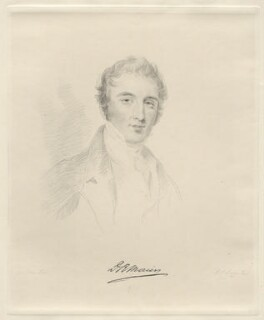 David Richard Morier, by Frederick Christian Lewis Sr, after  Joseph Slater - NPG D20606