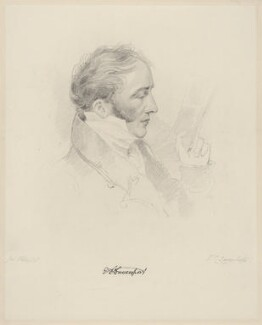 Edward Davies Davenport, by Frederick Christian Lewis Sr, after  Joseph Slater - NPG D20607
