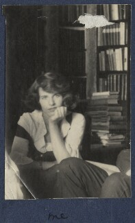 Julian Vinogradoff (née Morrell), by Lady Ottoline Morrell - NPG Ax141465a