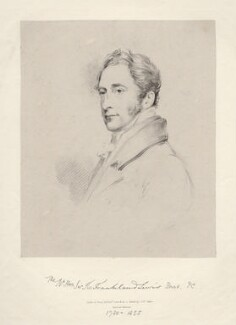 Sir Thomas Frankland Lewis, 1st Bt, by Richard James Lane, after  Joseph Slater - NPG D20609