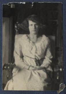 'Me' (Julian Vinogradoff (née Morrell)), by Lady Ottoline Morrell - NPG Ax141482