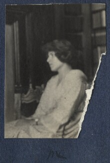 'Me' (Julian Vinogradoff (née Morrell)), by Lady Ottoline Morrell - NPG Ax141484