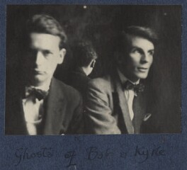 'Ghosts of Bob and Kyrle' (Bob Gathorne-Hardy; Kyrle Leng), by Lady Ottoline Morrell - NPG Ax141499