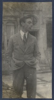 King George VI, by Lady Ottoline Morrell - NPG Ax141503