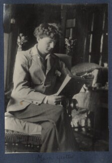 Mark Gertler, by Lady Ottoline Morrell - NPG Ax141505
