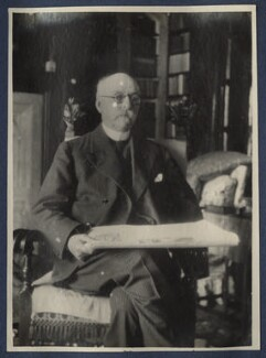 Walter Taylor, by Lady Ottoline Morrell - NPG Ax141506