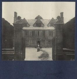 'Snow at Garsington', by Lady Ottoline Morrell - NPG Ax141517