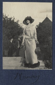 Lady Ottoline Morrell, by Unknown photographer - NPG Ax141525