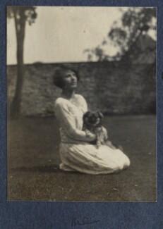 Julian Vinogradoff (née Morrell), by Lady Ottoline Morrell - NPG Ax141531