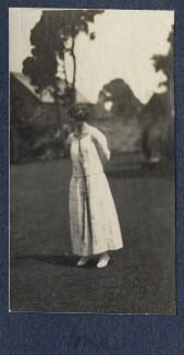Julian Vinogradoff (née Morrell), by Lady Ottoline Morrell - NPG Ax141536