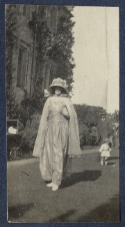 Lady Ottoline Morrell, by Unknown photographer - NPG Ax141538
