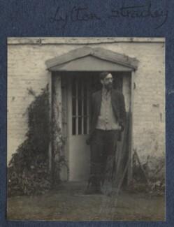 Lytton Strachey, by Lady Ottoline Morrell - NPG Ax141542