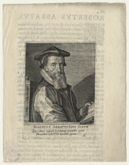 Robert Abbot, by Magdalena de Passe, by  Willem de Passe, published 1622 - NPG D20858 - © National Portrait Gallery, London