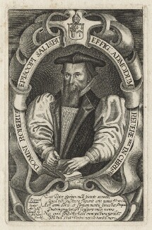 Robert Abbot, by Francis Delaram, published by  William Peake, after  Unknown artist - NPG D20862