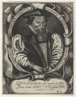 Robert Abbot, after Unknown artist, published 1650 - NPG D20863 - © National Portrait Gallery, London
