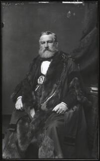 Sir Robert Fowler, 1st Bt, by Alexander Bassano - NPG x124412