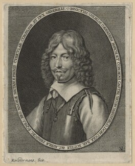William Cavendish, 1st Duke of Newcastle-upon-Tyne, by Lucas Vorsterman, after  Samuel Cooper - NPG D20870