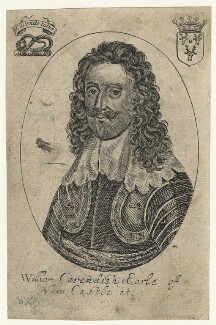 William Cavendish, 1st Duke of Newcastle-upon-Tyne, after Unknown artist - NPG D20869