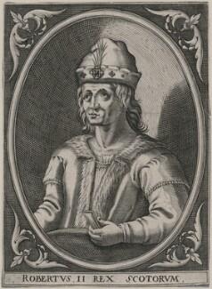 Robert II of Scotland, after Unknown artist - NPG D20872