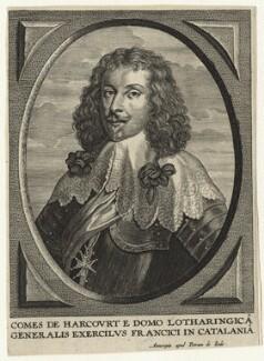 Henri de Lorraine, Count de Harcourt, by Pieter de Jode II, after  Unknown artist - NPG D20875