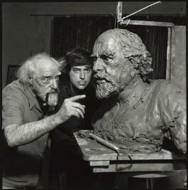 Augustus John; Fiore de Henriquez, by Felix Fonteyn - NPG x127328