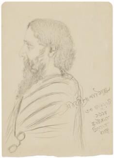 Rabindranath Tagore, probably by Jyotirindranath Tagore - NPG D20876