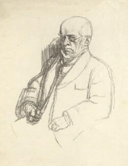 Adolf Von Menzel, by William Rothenstein - NPG D20877