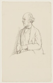 (William) Edward Hartpole Lecky, by William Rothenstein - NPG D20878