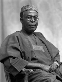Obafemi Awolowo, by Bassano Ltd - NPG x171537