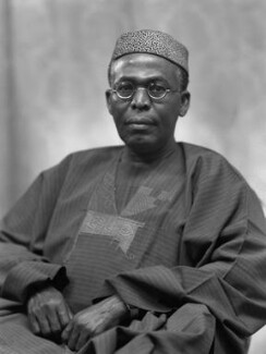 Obafemi Awolowo, by Bassano Ltd - NPG x171539