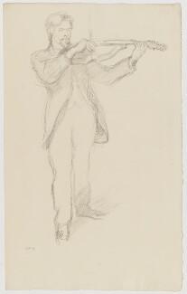 Arnold Dolmetsch, by William Rothenstein - NPG D20890