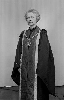 Dame Olga Nikolaevna Uvarov, by Bassano Ltd, 5 May 1976 - NPG x171683 - © National Portrait Gallery, London