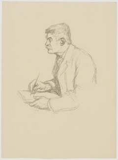 William Strang, by Sir William Rothenstein, 1897 - NPG D20901 - © National Portrait Gallery, London