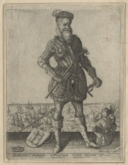Robert Dudley, 1st Earl of Leicester, by Christoffel van Sichem (Voschem), circa 1585-1587 - NPG D20904 - © National Portrait Gallery, London